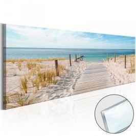 Obraz na szkle akrylowym - Cisza morza [Glass]