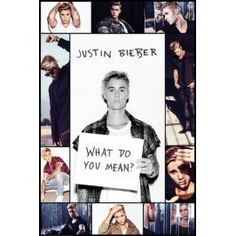 Justin Bieber What do You Mean ? - plakat