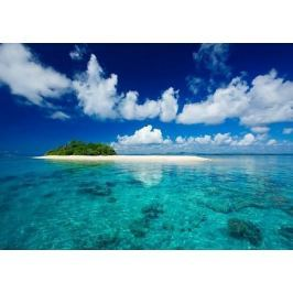 Tropical island vacation paradise - fototapeta