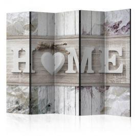 Parawan 5-częściowy - Parawan: Napis home