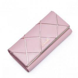 NECELLE Stylowy damski portfel Różowy