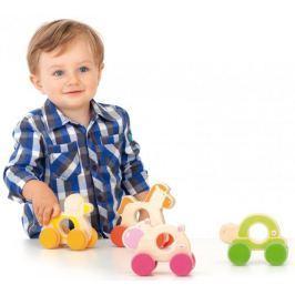 Drewniana zabawka, zwierzątko do rączki
