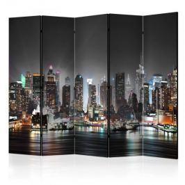 Parawan 5-częściowy - Nowy Jork II [Room Dividers]