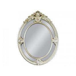Lustro wiszące Circle 100x133 srebrny
