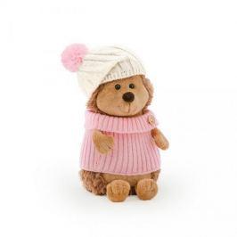 Przytulanka Jeżyk w biało-różowej czapce - 25 cm #T1