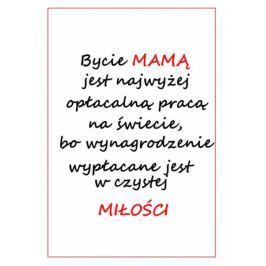 Bycie mamą - plakat