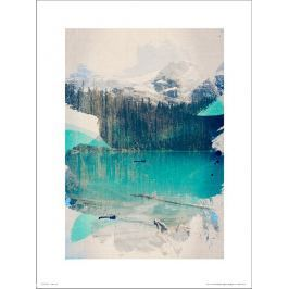 Abstract Forest - plakat premium