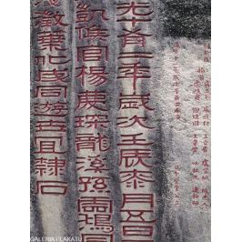 Chiny Putuo Temple - plakat premium
