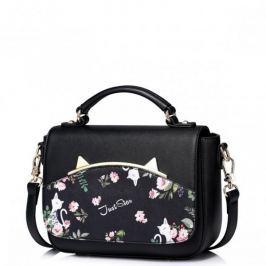 JUST STAR Dziewczęca torebka do ręki z wiosennej kolekcji Czarna