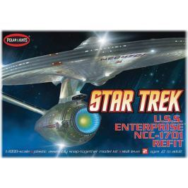 Model Plastikowy Do Sklejania Polar Lights (USA) - Star Trek U.S.S. Enterprise NCC-1701-A Refit