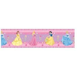 Border Disney Princess Księżniczki różowy