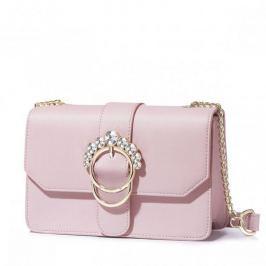 ''NUCELLE'' torebka listonoszka w kolorze różowym