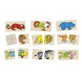 Puzzle i memo, śmieszne zwierzęta, 32 el.