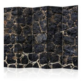 Parawan 5-częściowy - Kamienny zmierzch II [Room Dividers]