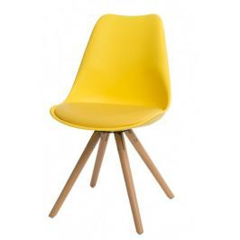 Krzesło Norden Star żółte outlet