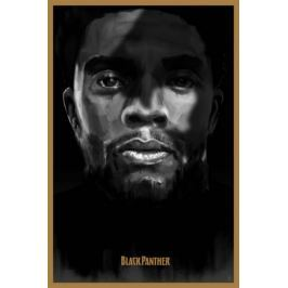 Czarna pantera - plakat premium