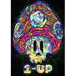 PsychoSkulls, 1UP, Mario Nintendo - plakat