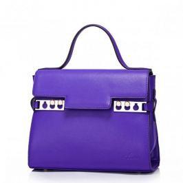 Modna damska torebka do ręki Purpurowa