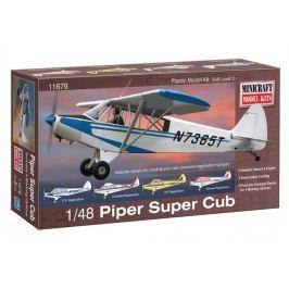 Model plastikowy - Samolot Piper Super Cub - Minicraft