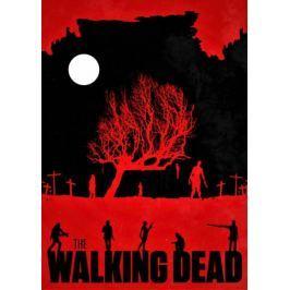The Walking Dead Vintage Poster v2 - plakat