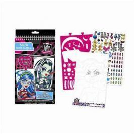 Szkicownik Monster High Make Up