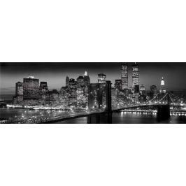 Nowy Jork - Manhattan Nocą - plakat