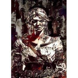 Legends of Bedlam - Ciri, Wiedźmin - plakat