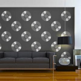 Fototapeta - Platinum vinyls