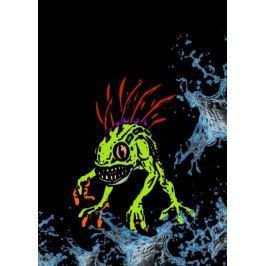 BlizzardVerse Stencils - Murky, the Deep Terror, Warcraft - plakat