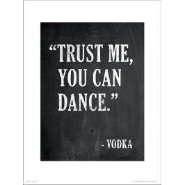 Dance Vodka - plakat premium