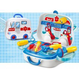 Zestaw lekarza z akcesoriami - Walizka autobus #E1