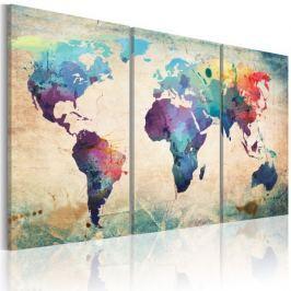 Obraz - Świat malowany akwarelami