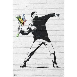 Banksy Zamieszki - plakat