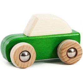 Drewniane autko z napędem