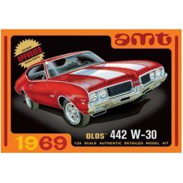 Model plastikowy - Samochód 1969 Olds 442 W-30 1:25 - AMT