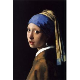 Dziewczyna z perłą - plakat