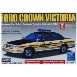 Model Plastikowy Do Sklejania Lindberg (USA) - Radiowóz  Ford Crown Victoria (wersja stanowa Tennessee)