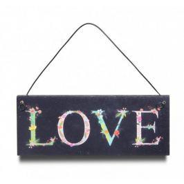 Tabliczka Z Napisem Love