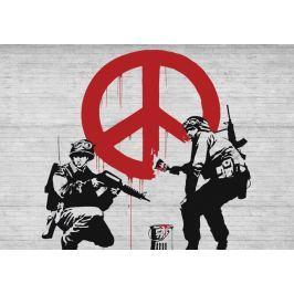 Fototapeta Banksy Peace flizelinowa