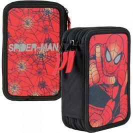 Piórnik potrójny z wyposażeniem Spider-Man New
