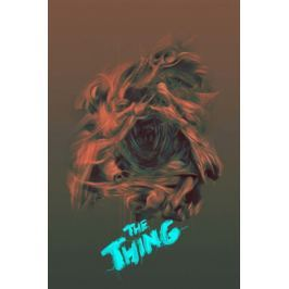 The Thing Coś - plakat premium