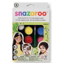 Zestaw farb do twarzy SNAZAROO PRO TĘCZA