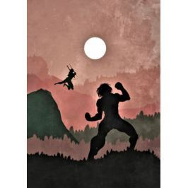Attack on Titan Vintage Poster - plakat