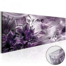 Obraz na szkle akrylowym - Ametystowy  gwiazdozbiór [Glass]