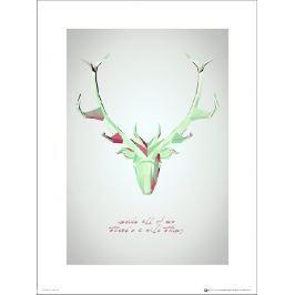 Deer Wild Thing - plakat premium