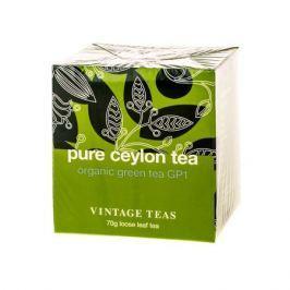 Vintage Teas Pure Ceylon Tea - Organic Green Tea GP1 - 70g
