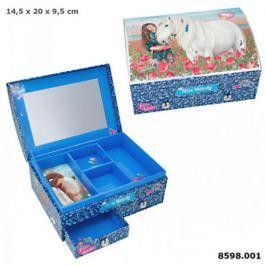 Szkatułka pudełko na biżuterię z konikami MISS MELODY