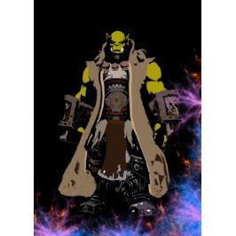 BlizzardVerse Stencils - Thrall, the World Shaman, Warcraft - plakat
