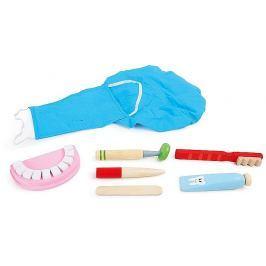 Niebieski zestaw dentystyczny