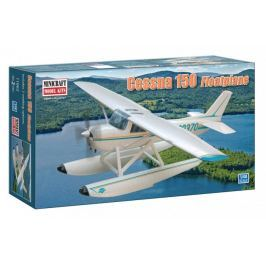Model plastikowy - Samolot (hydroplan) Cessna 150 - Minicraft